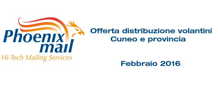 Distribuzione volantini Cuneo