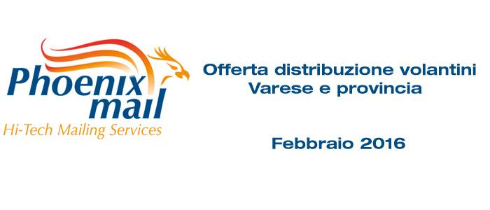 distribuzione volantini Varese