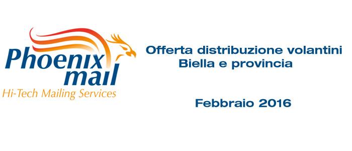 Distribuzione volantini Biella