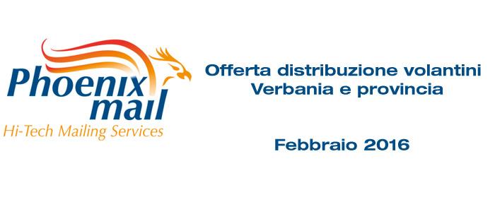 Distribuzione volantini Verbania